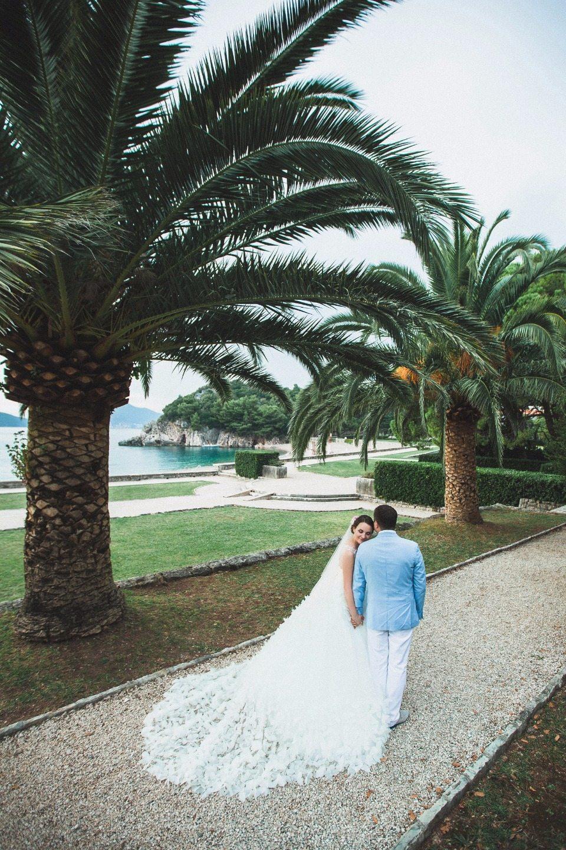 В солнечной Черногории: свадьба Алексея и Ольги