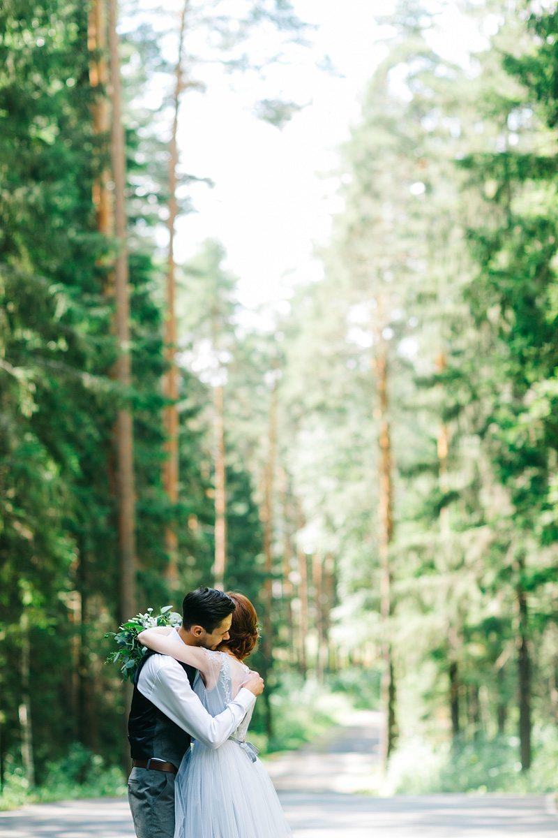 Нежный эко: свадьба Артёма и Марии