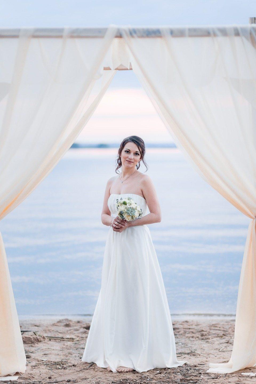 Морская свадьба для двоих: стилизованная фотосессия Надежды и Сергея
