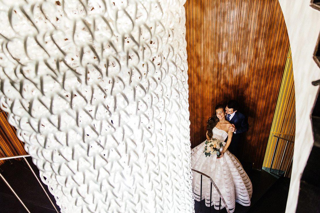 Современная классика: свадьба Петра и Юлии