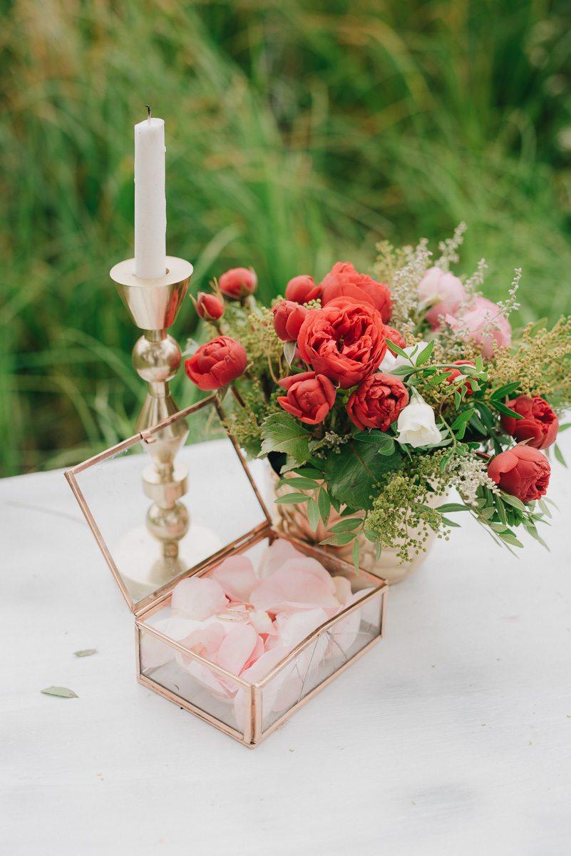 Свадьба в усадьбе: love-story Олега и Тани
