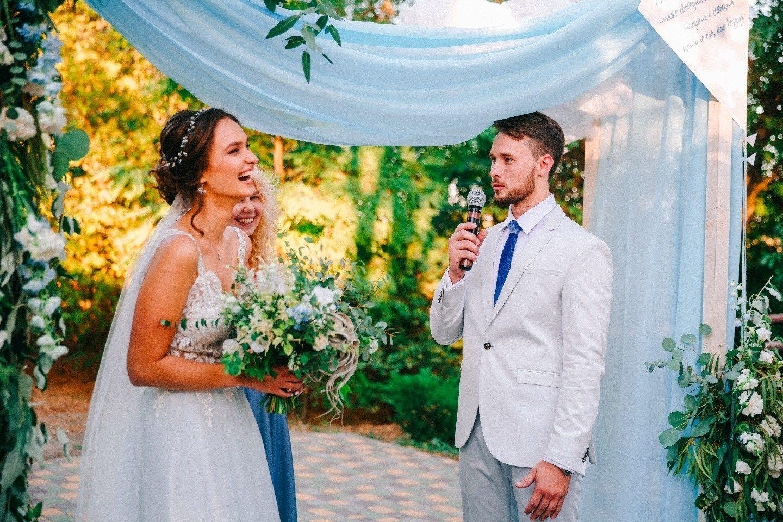 Между небом и землей: свадьба Влада и Риты