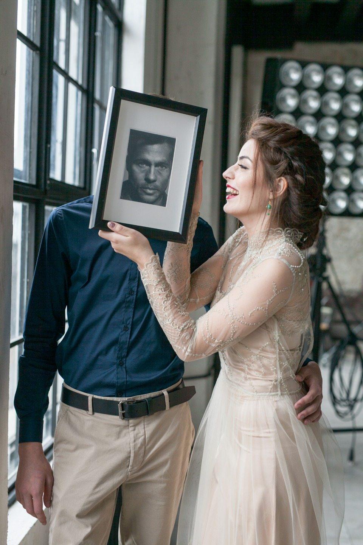 В стиле лофт: love-story Александры и Андрея