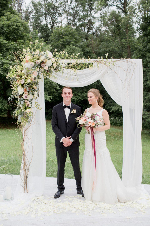 Позолоченный лес: свадьба Антона и Виктории