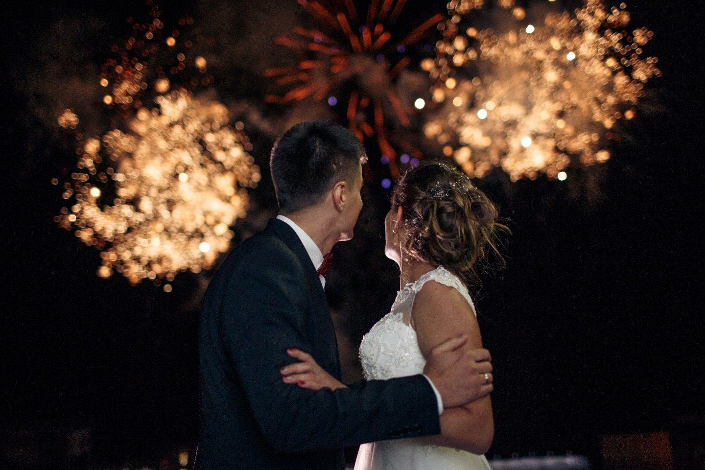 В винном цвете: свадьба Олега и Кристины