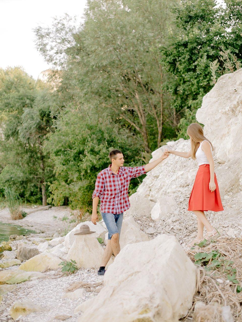 У подножия утеса: love-story Димы и Инны